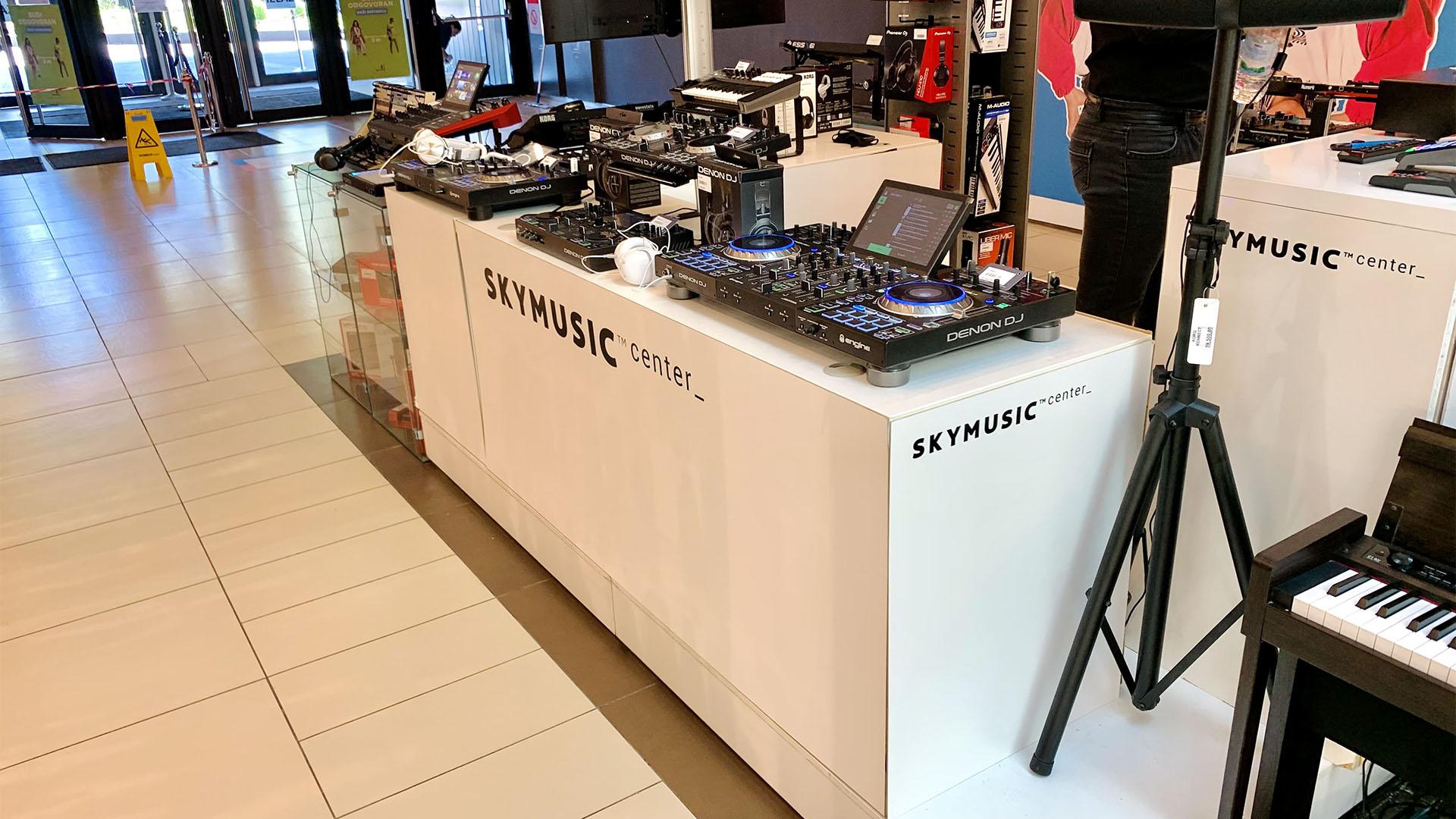 Skymusic Center in TC Usce