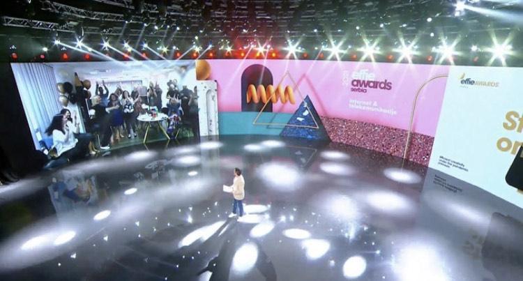 Effie ceremony at Skymusic Studio