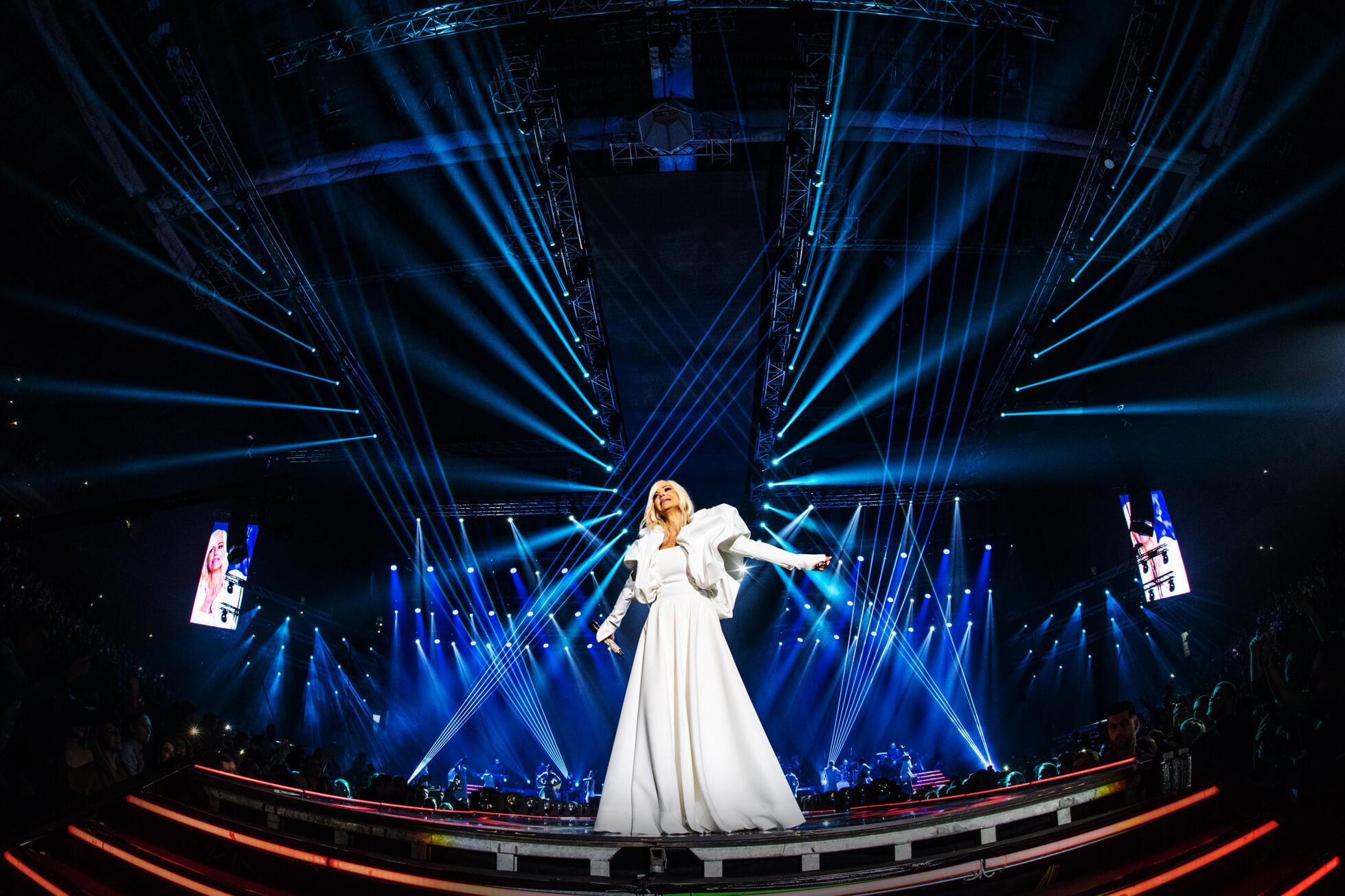 Nataša Bekvalac in the Arena